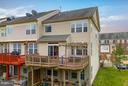 2-Tiered Deck and LL Patio w/ Full Walkoout - 21018 ROAMING SHORES TER, ASHBURN