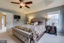Elegant and Spacious Master Bed. w/ Trey Ceiling - 21018 ROAMING SHORES TER, ASHBURN