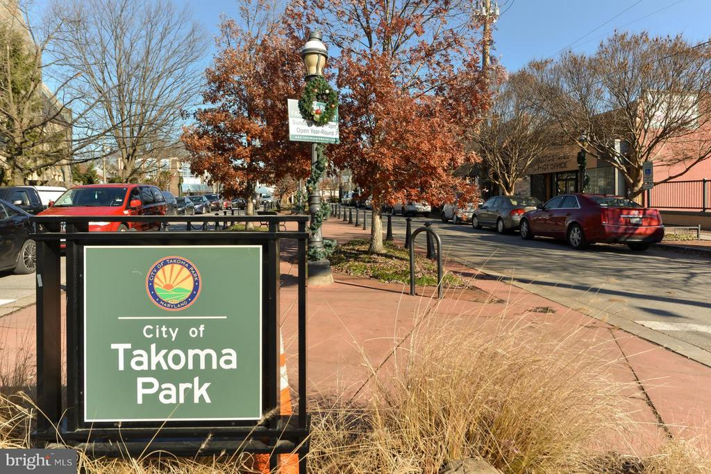 Charming Takoma Park - 207 UNDERWOOD ST NW, WASHINGTON
