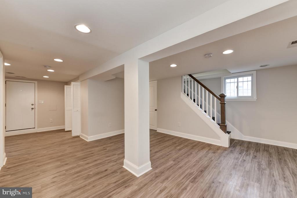 Another view of Lower Level - 207 UNDERWOOD ST NW, WASHINGTON