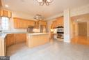 Kitchen has Plenty of Space for Breakfast Table. - 21844 WESTDALE CT, BROADLANDS