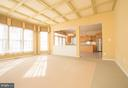 Over-sized Family Room with Coffer Ceiling. - 21844 WESTDALE CT, BROADLANDS
