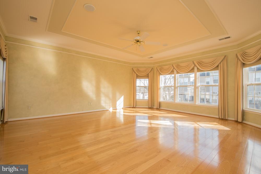 Large Master Bedroom with Designer Ceiling. - 21844 WESTDALE CT, BROADLANDS