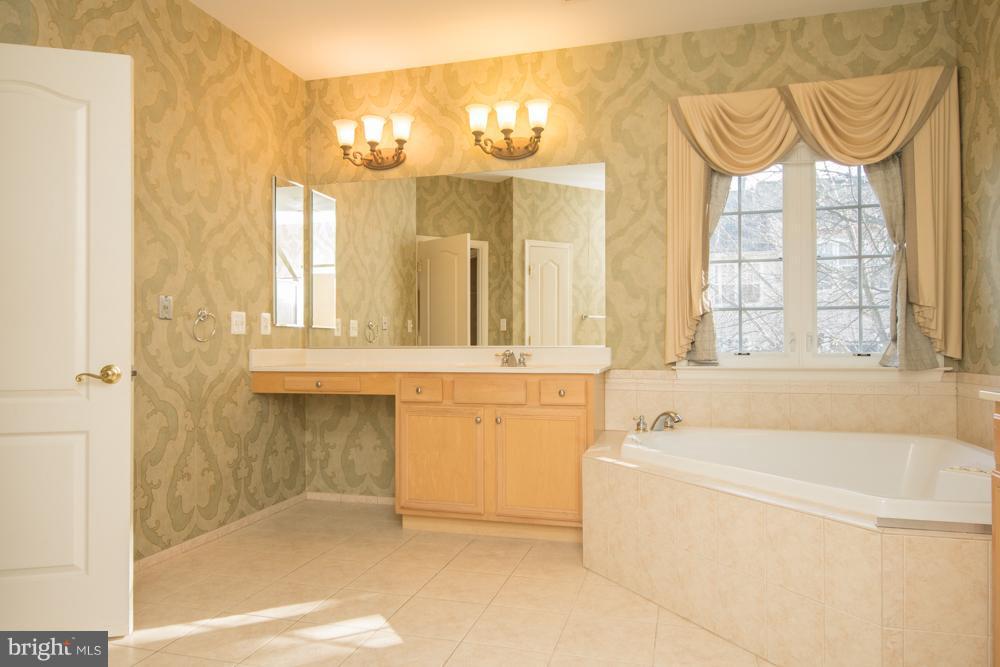 Separate Vanities  in Luxury Master Bath. - 21844 WESTDALE CT, BROADLANDS
