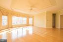 Hardwood Floors throughout Master Bedroom. - 21844 WESTDALE CT, BROADLANDS