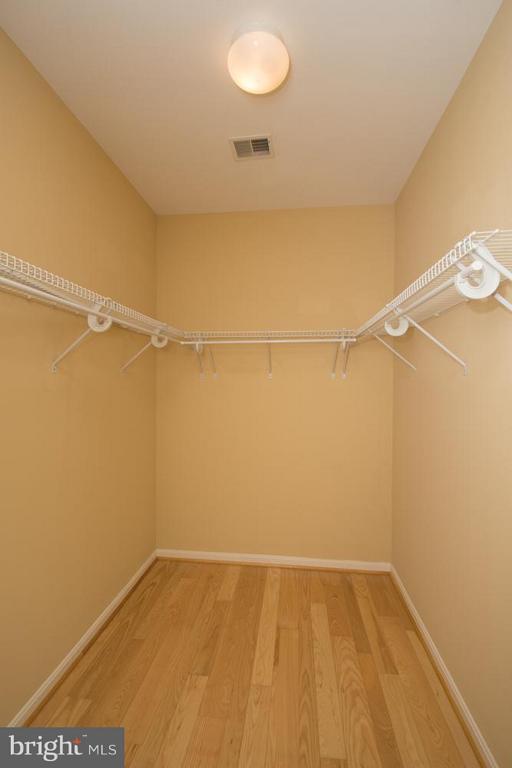Walk-in Closet #2 in Master Bedroom. - 21844 WESTDALE CT, BROADLANDS