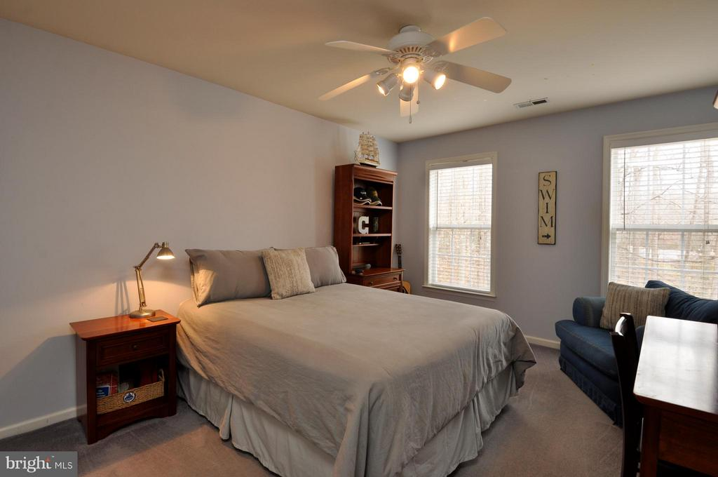 Large  bedroom with walk-in closet - 221 SEQUESTER DR, STAFFORD
