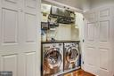 LAUNDRY AREA OFF KIT (WASHER-DRYER DO NOT CONVEY) - 42821 PAMPLIN TER, CHANTILLY