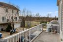 VIEW OF OPEN AREA FROM DECK - 42821 PAMPLIN TER, CHANTILLY