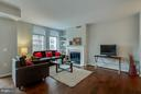 Living Room - 11990 MARKET ST #217, RESTON