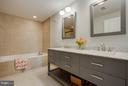Master Bathroom - 11990 MARKET ST #217, RESTON