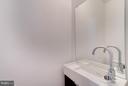 Powder Room - 3819 14TH ST NW #PH4, WASHINGTON