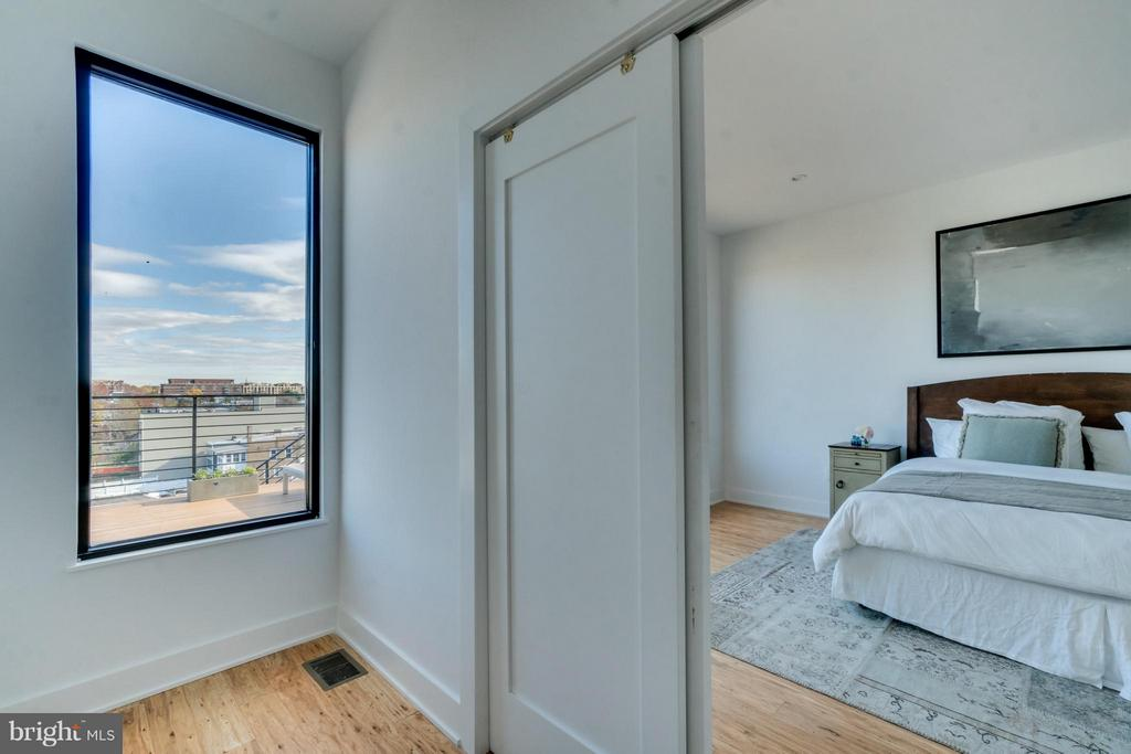 Large Walk in Closet - Master Bedroom - 3819 14TH ST NW #PH4, WASHINGTON
