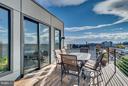 Deck off Rec/Loft Area - 3819 14TH ST NW #PH4, WASHINGTON