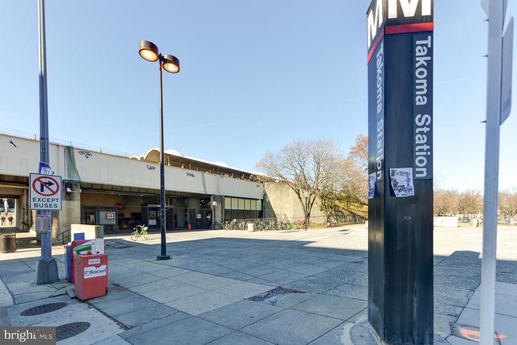 Takoma Park Metro Station - 207 UNDERWOOD ST NW, WASHINGTON