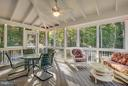 Spacious Screened-In Porch With A Gorgeous View! - 8137 RAPHIEL CT, MANASSAS