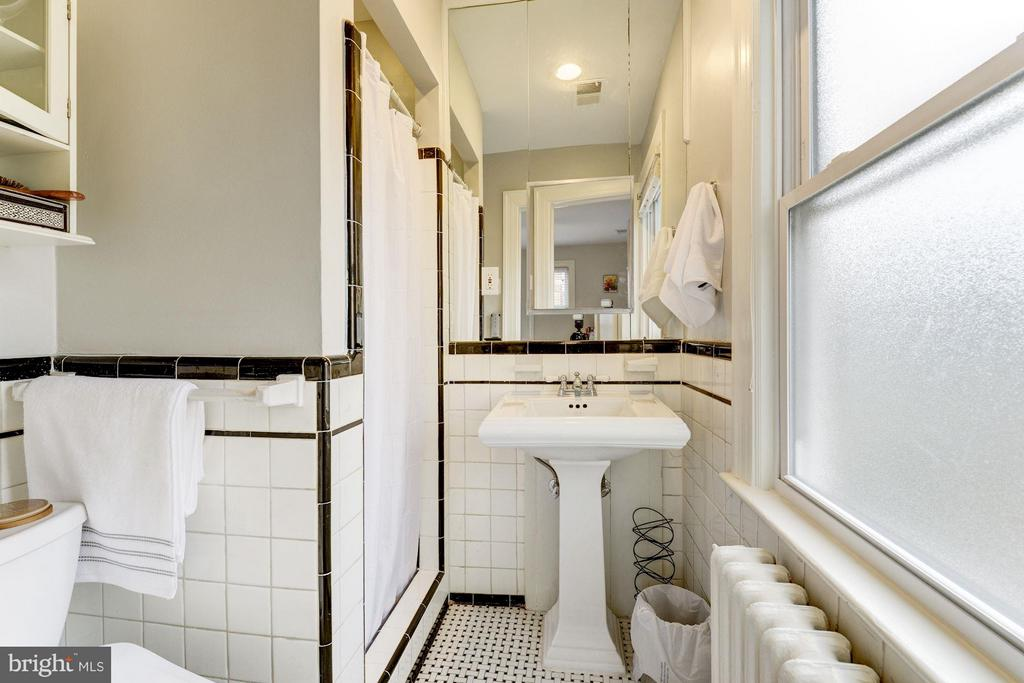 En Suite Bath in Bedroom #3 - 5224 NEBRASKA AVE NW, WASHINGTON
