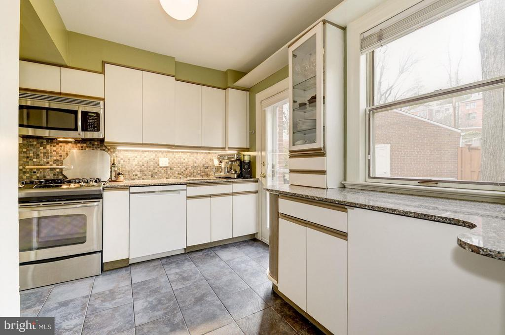 Renovated Kitchen - 5224 NEBRASKA AVE NW, WASHINGTON