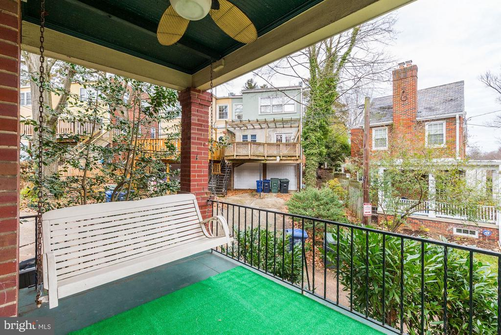 Open Side Porch - 5224 NEBRASKA AVE NW, WASHINGTON