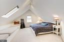 Finished Attic-Bedroom #4 with Skylights - 5224 NEBRASKA AVE NW, WASHINGTON