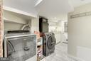 Renovated Laundry and Kitchenette in Lower Level - 5224 NEBRASKA AVE NW, WASHINGTON