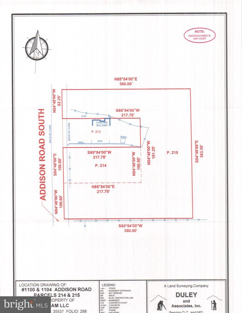 أراضي للـ Sale في Capitol Heights, Maryland 20743 United States