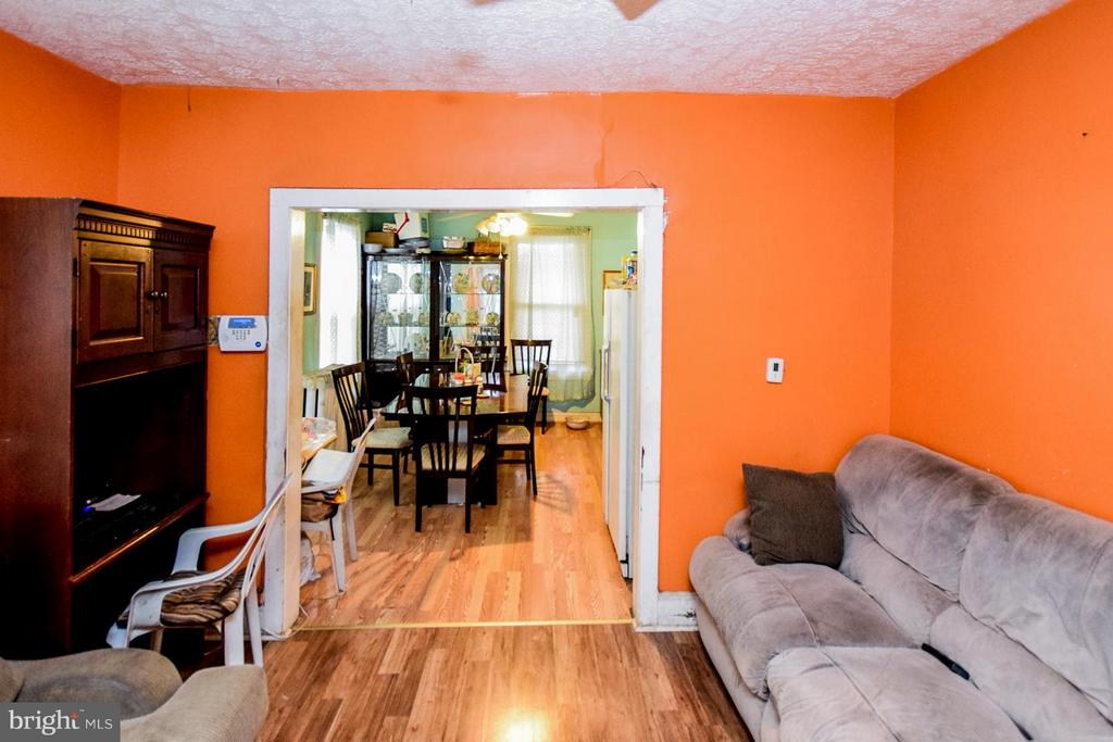 Living Room - 2207 EVARTS ST NE, WASHINGTON