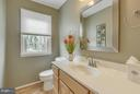 1st floor powder room - 145 PEYTON RD, STERLING