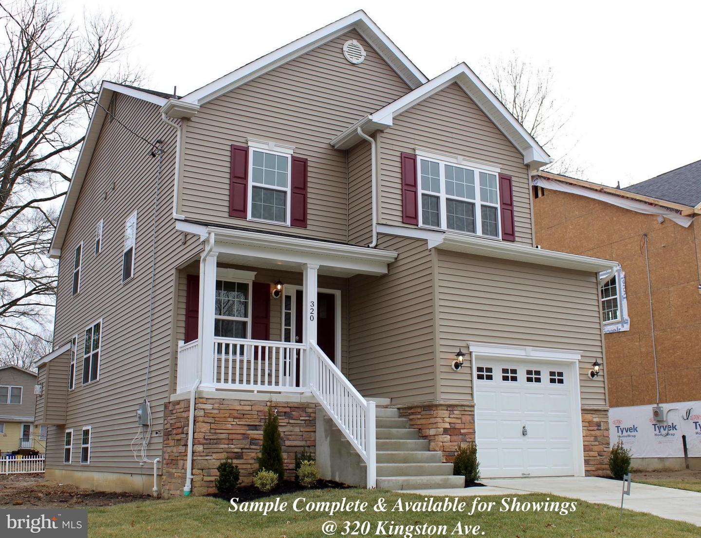 Single Family Home for Sale at 318 KINGSTON Avenue Barrington, New Jersey 08007 United States