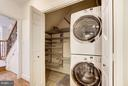 Laundry & Extra Storage - 3249 SUTTON PL NW #C, WASHINGTON