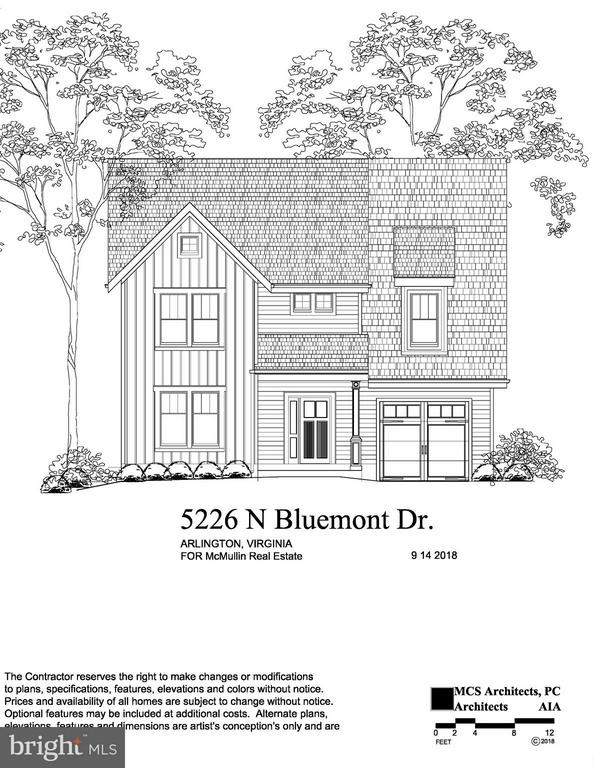 Front Elevation - 5226 N BLUEMONT DR, ARLINGTON