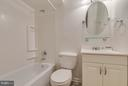 Lower Level Bath - 15004 LUTZ CT, WOODBRIDGE