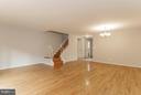 Living/Dining Room - 16316 TACONIC CIR, DUMFRIES