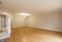 Living/Dining Room - 16316 TACONIC CIR, DUMFRIES