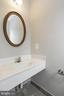 Powder Room - 16316 TACONIC CIR, DUMFRIES