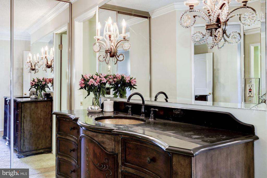 Master Bath Vanity - 1600 N OAK ST #927, ARLINGTON