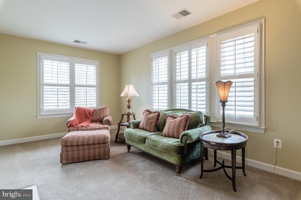 Master Bedroom Sitting Area - 3013 ROSE CREEK CT, OAKTON