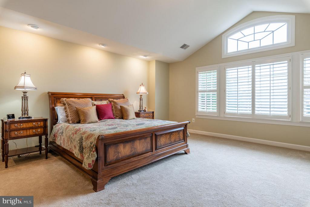 Master Bedroom with Cathedral Ceilings - 3013 ROSE CREEK CT, OAKTON