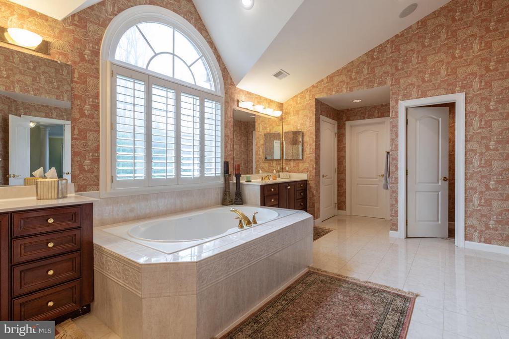 Master Bathroom with Palladium Windows - 3013 ROSE CREEK CT, OAKTON