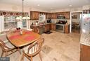SPACIOUS KITCHEN WITH RECESSED LIGHTS - 9200 MACSWAIN PL, SPRINGFIELD
