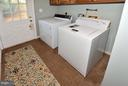 LAUNDRY ROOM ON LOWER LEVEL - 9200 MACSWAIN PL, SPRINGFIELD