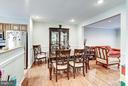 Dining area - 1814 N GEORGE MASON DR, ARLINGTON