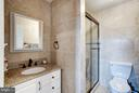 Renovated Master Bath - 1814 N GEORGE MASON DR, ARLINGTON