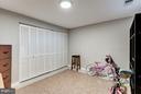 Lower Level  Possible Bedroom - 1814 N GEORGE MASON DR, ARLINGTON
