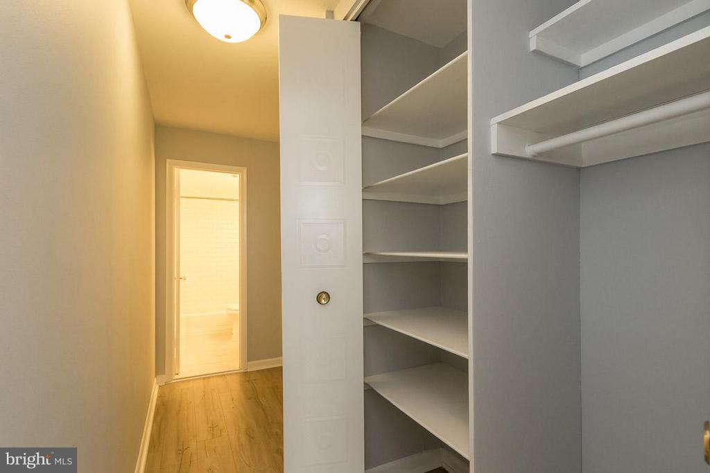 Hall Closet for more storage - 5565 COLUMBIA PIKE #601, ARLINGTON