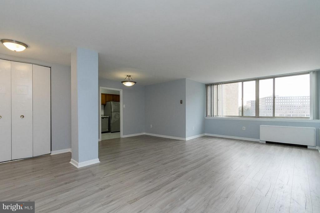 Large living room - 5565 COLUMBIA PIKE #601, ARLINGTON