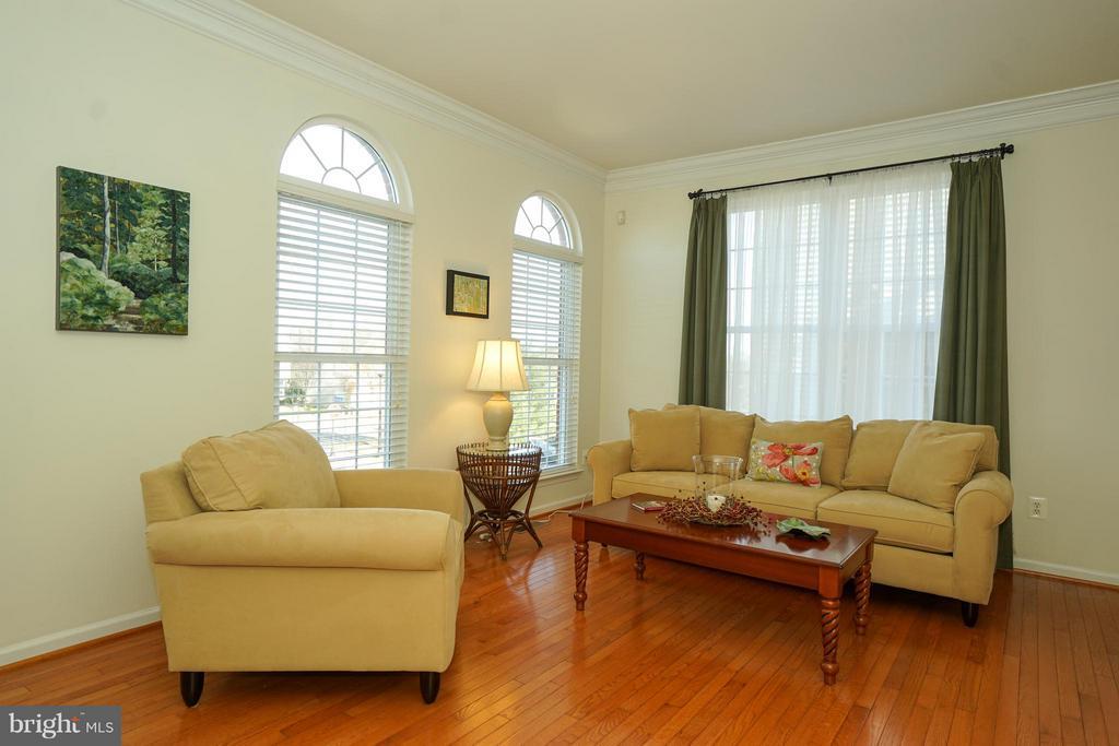 Entry/Foyer formal sitting room - 42919 SHELBOURNE SQ, CHANTILLY