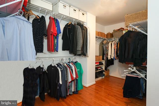 Master BR huge walk-in-closet - 42919 SHELBOURNE SQ, CHANTILLY