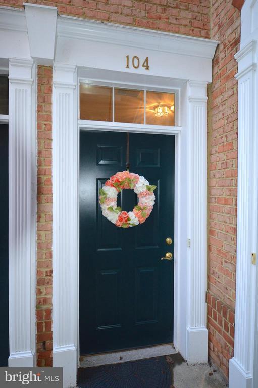 Inviting entrance! - 20365 BELMONT PARK TER #104, ASHBURN