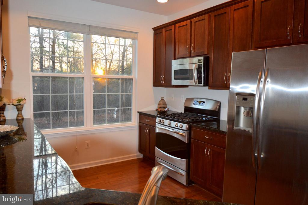 Large window - beautiful sunsets - 20365 BELMONT PARK TER #104, ASHBURN